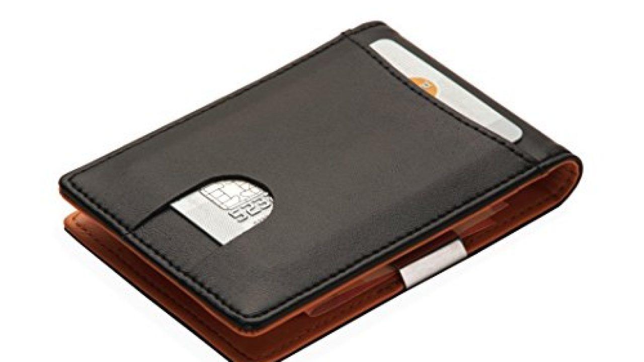 Portemonnaie Mit Geldklammer Für Herren Kreditkartenetui